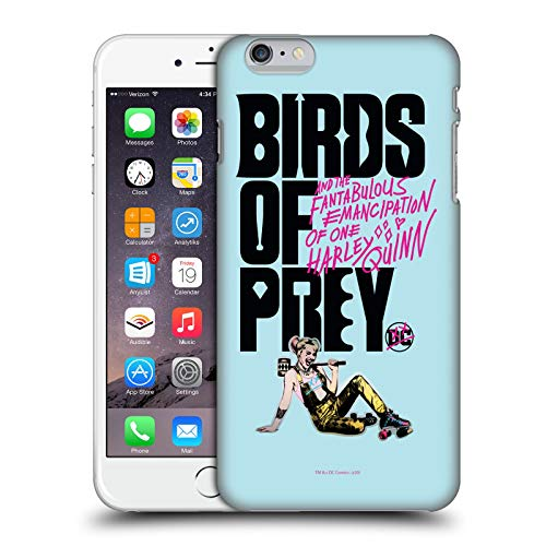 Head Case Designs Ufficiale Birds of Prey DC Comics Fantabulous Harley Quinn Arte Cover Dura per Parte Posteriore Compatibile con Apple iPhone 6 Plus/iPhone 6s Plus