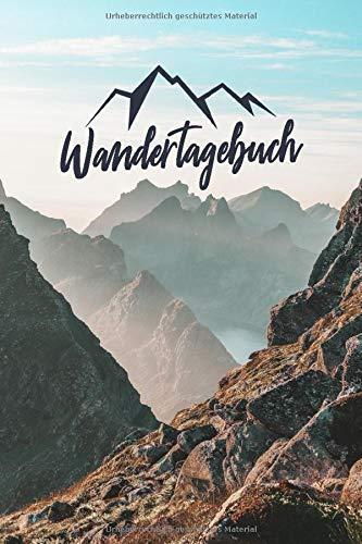 Wandertagebuch: Mein Tourenbuch zum Wandern und Trekking für Berge und Gebirge - Das Tagebuch und Gipfellogbuch zum Selberschreiben für Wanderer, ... | A5 Notizbuch Für 50 Wanderungen