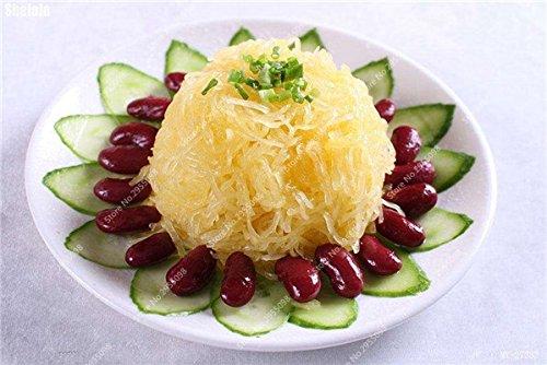 40pcs / sac citrouille exotiques semencier japonais délicieux Cucurbita fil d'or de citrouille Bonsai Plante en pot de légumes Livraison gratuite 2