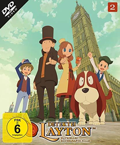 Detektei Layton - Rätselhafte Fälle, Vol. 2 [2 DVDs]
