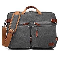 CoolBELL umwandelbar Rucksack Umhängetasche Laptop