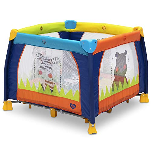 The Delta Play Yard is a must have when preparing for twins!
