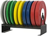 Gymstick str-prowr Rack para Placas de Peso, Color Negro