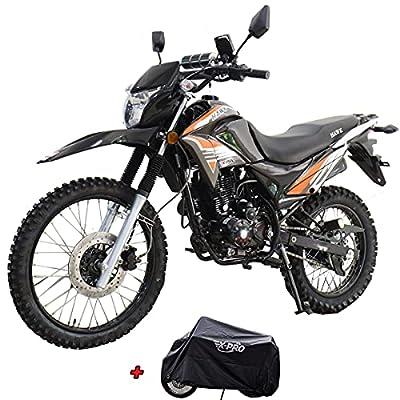 X-Pro Hawk 250 Dirt Bike Motorcycle Bike Dirt Bike Enduro Street Bike Motorcycle Bike?Black) from X-Pro