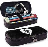 Live Love Nurse Pencil Case Pen Bag Pouch Holder Makeup Bag for School Office College