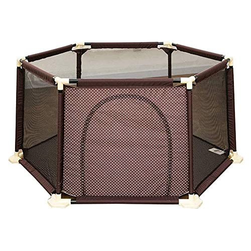 New Foldable Playpen, Baby Safety Play Yard Lightweight Safety Fence Preschool Toys, Kid's Play Pen,...