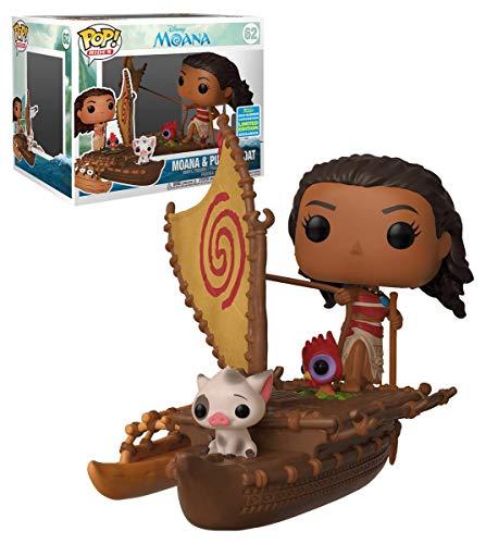 Funko Pop Moana & PUA en el barco 62 Vaiana Figuras 9 cm Disney Limited Edition 1
