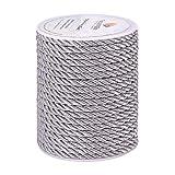 PandaHall Cordón trenzado de 5 mm, cuerda trenzada de...