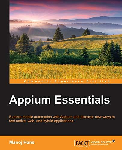Appium Essentials (English Edition)