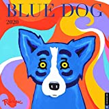 Blue Dog 2020 Wall Calendar