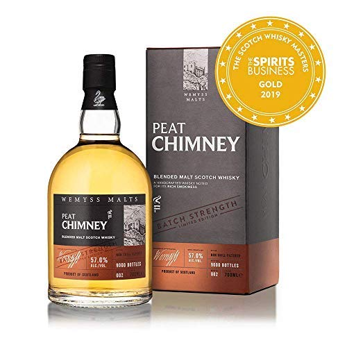 Malts Peat Chimney Batch Strength Whisky 0,7 L Blended Malt Scotch Batch 002