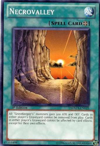 YU-GI-OH! - Necrovalley (SDMA-EN025) - Structure Deck: Marik - 1st Edition - Common by