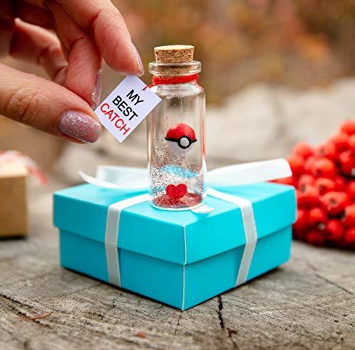 Anniversary Gift For Him Boyfriend Husbund My Best Catch I Choose You Message In Bottle One Year Anniversary Present For Girlfriend Wife Her