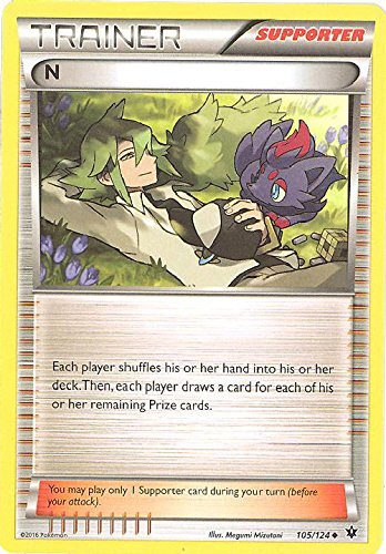 Pokemon - N (105/124) - XY Fates Collide