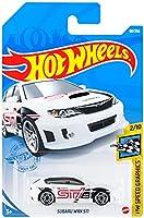 ホットウィール(Hot Wheels) ベーシックカー スバル WRX STI HCM54