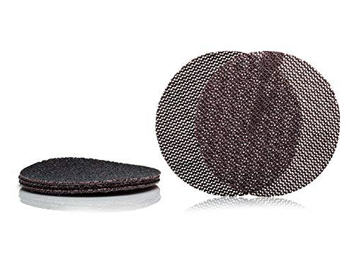 GLASS POLISH GlasNet200 - Disco abrasivo profesional para vidrio, carburo de silicio (5 unidades, 125 mm de diámetro)