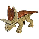 FUNSHOWCASE Educational Realistic Mini Pentaceratops Dinosaur Figures Playset Height 1-inch