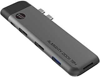 TUNEWEAR ALMIGHTY DOCK TB4 マルチUSB-Cハブ Macbook Pro/Air HDMI スペースグレイ TUN-OT-000067