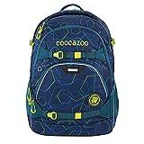 coocazoo Schulrucksack ScaleRale Laserbeam Blue blau, ergonomischer Tornister, höhenverstellbar mit Brustgurt und Hüftgurt für Jungen 5. Klasse, 30 Liter