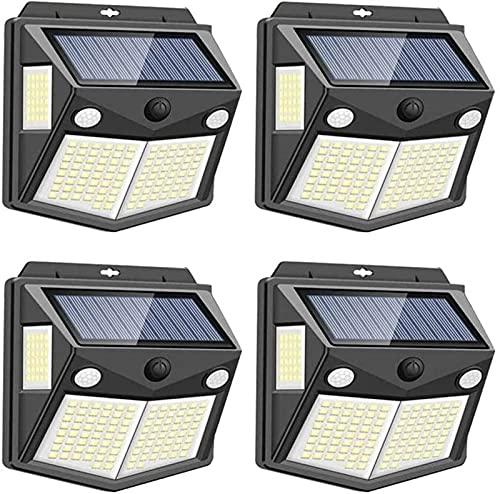 GH-YS Solarleuchten Solar-Bewegungssensor für den Außenbereich...