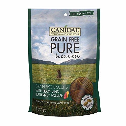 Canidae Canidae Korn Kostenlos Kekse Pure Heaven Bisons Und Butternut-Kürbis Für Hunde 312 G