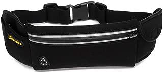 PURETINN Running Belt Fanny Pack Waist Bag Waterproof for Runners, Walker & Travelers with Adjustable Belt