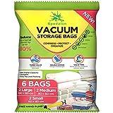 Spedalon Vacuum Storage Bags - Pack of 6