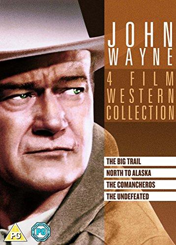 John Wayne Box Set (Undefeated/The Comancheros/The North to Alaska/The Big Trail) [DVD]