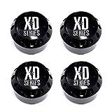 xd series 22 - 4 Pack KMC XD Series 464K98GB LG1405-22 Gloss Black Center Cap