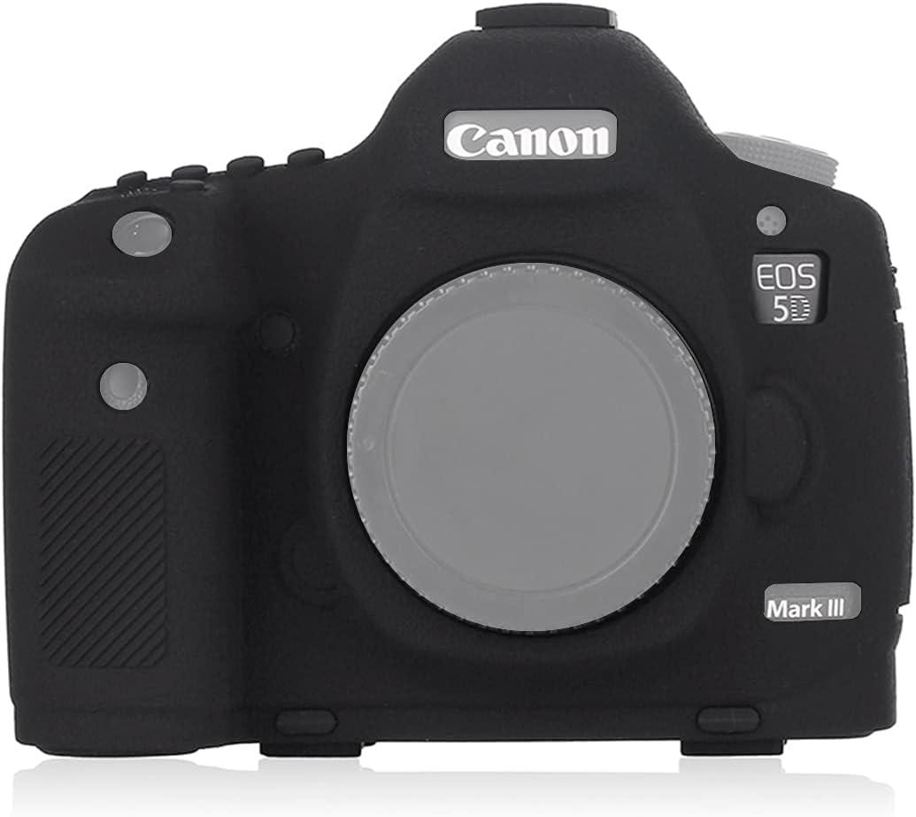 Very popular STSEETOP Canon 5D Mark III Baltimore Mall Prot Detachable Silicone Case Rubber
