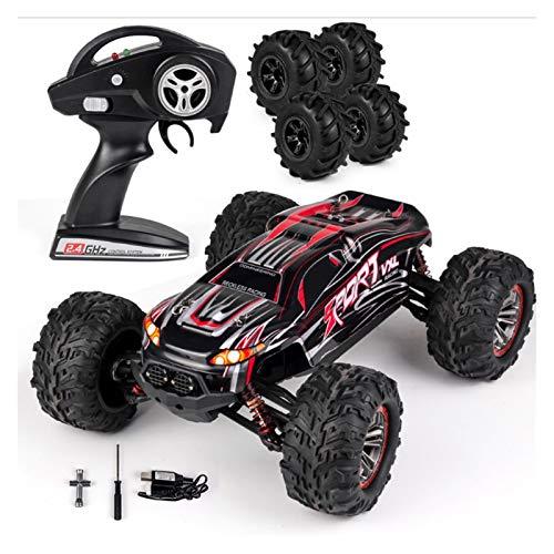 YYQIANG RC Cars, 1:18 Escala Wireless Off-Road Truck 2.4GHz Toys Remote Control Toys Radio Controlado Monster Rock Rock Crawler Chariot con 4 neumáticos de repuesto Regalo para niños adultos Aficiones