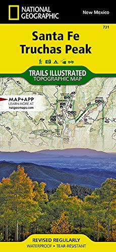 Santa Fe, Truchas Peak (National Geographic Trails Illustrated Map, 731)