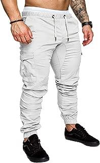 Nensiche fantasia mimetica Pantaloni sportivi da uomo lunghi vestibilit/à slim