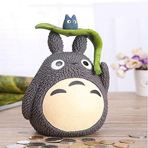 FLLXSMFC Sparschwein Mein Nachbar Totoro Sparschwein Harz Totoro Figuren Japanischer Stil Münzgelddose 1 Stück Münzdose Kinder Sparschwein