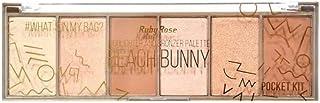 Paleta de Iluminadores y Bronzers Beach Bunny de Ruby Rose