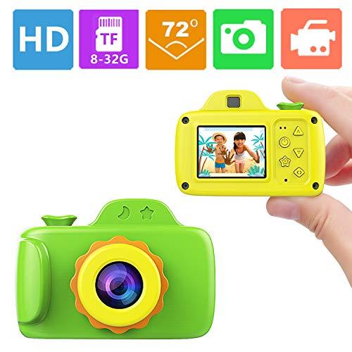 Smallest Kid Digital Camera,ZTour Mini Creative Cute HD Digital Children...