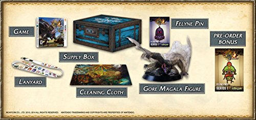 Monster Hunter 4 Ultimate Collector's Edition - Nintendo 3DS