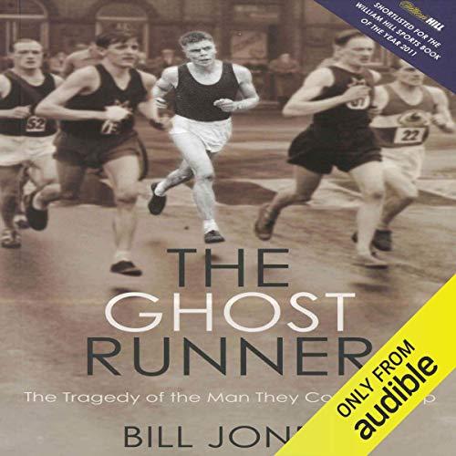 The Ghost Runner audiobook cover art