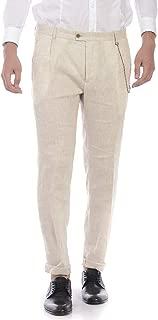 Daniele Alessandrini - Men'S Pants P2994S14903802 P2994S14903802 Beige ELIVIS 95 CAT Pants