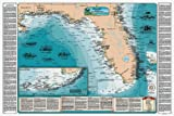 Sealake Products Florida and Florida Keys Shipwreck Chart Bundle (Paper)