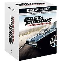 Pack. A Todo Gas - Películas 1-8 (4K UHD + BD) [Blu-ray]