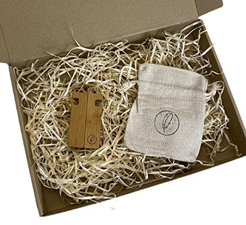 Woody & Ellen - Soporte para tablet y smartphone, con base de carga ajustable y móvil (bambú)
