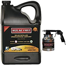 Mouse Free 1 Gallon RV Mouse Repelling Undercarriage Lubricant with Spray Gun
