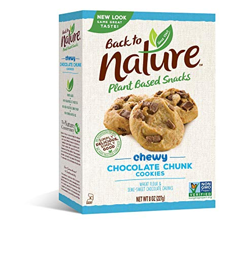 Back to Nature Cookies, Non-GMO Chewy Chocolate Chunk, 8 Ounce (Packaging May Vary)