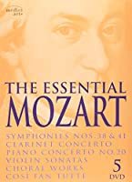 The Essential Mozart 5DVD