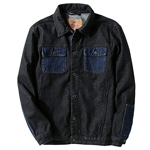 Shangyi heren jeansjack bomberjack heren hoogwaardige jeans heren jeansjas
