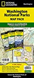 Washington National Parks [Map Pack Bundle] (National Geographic Trails Illustrated Map)