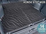 Hotfield ホンダ 新型対応 ステップワゴン ラゲッジカバーマット スパーダ RP系 ハイブリッド WAVEブラック