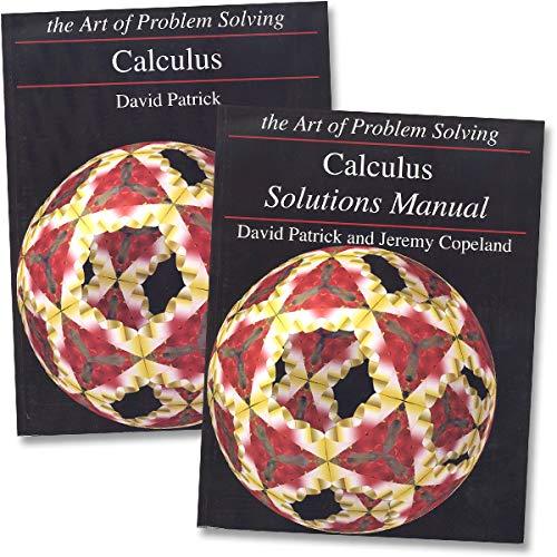 Art of Problem Solving: Calculus Books Set (2 Books) - Calculus Text, Calculus Solutions Manual