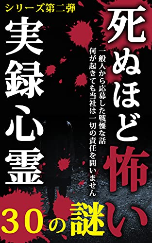死ぬほど怖い実録心霊〜30の謎〜シリーズ第二弾